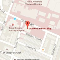 Map of the Audrey Emerton Building