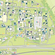 University of Sussex campus map